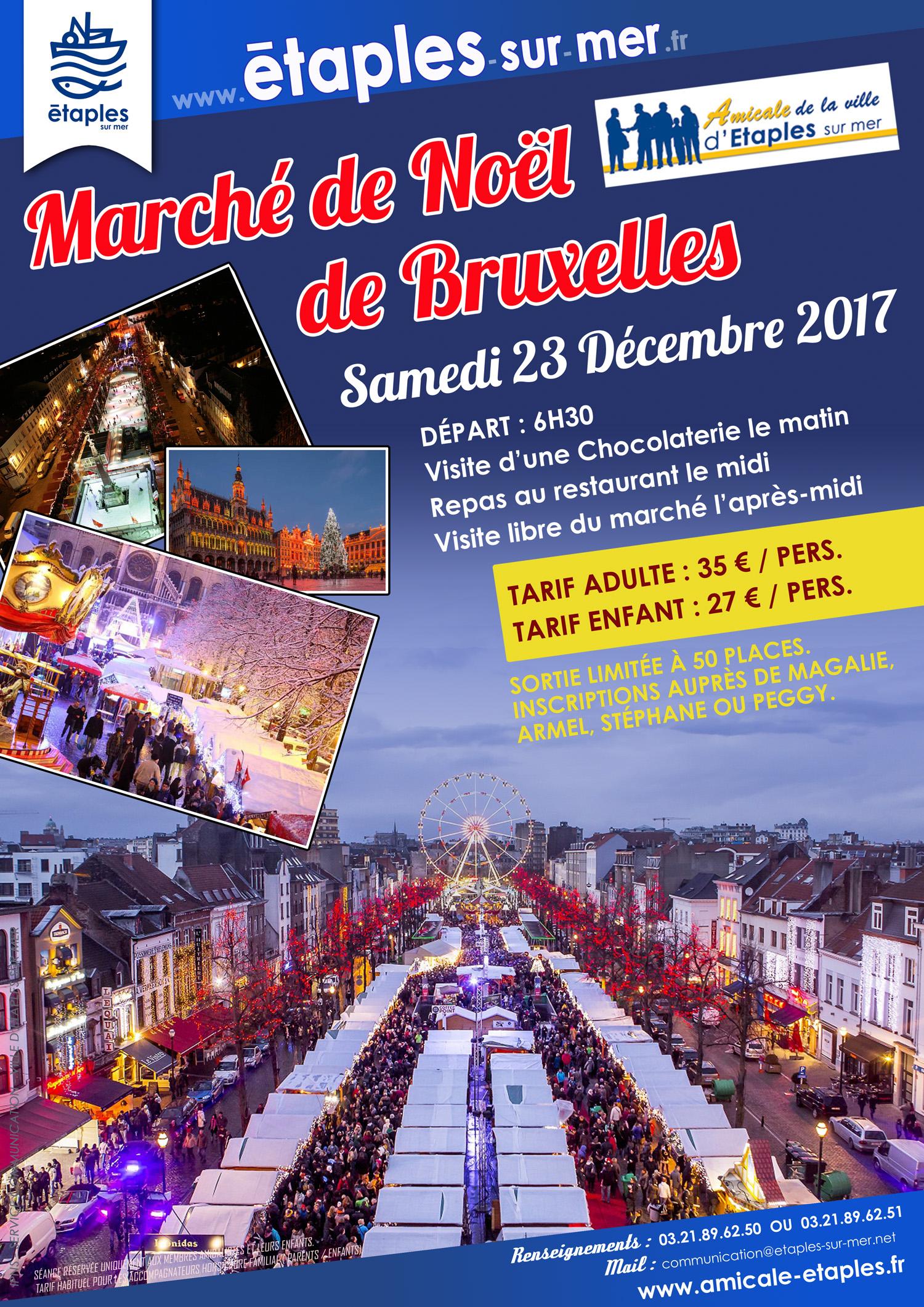 marché de noel bruxelles 2018 inscription Journée au marché de Noël de Bruxelles | Amicale de la ville d  marché de noel bruxelles 2018 inscription